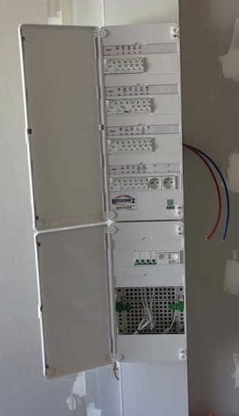 Installation de tableau électrique